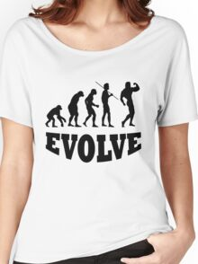 Evolution to Body Builder Women's Relaxed Fit T-Shirt