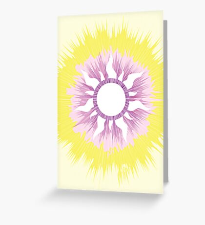 A Tangled Sunburst Greeting Card
