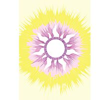 A Tangled Sunburst Photographic Print