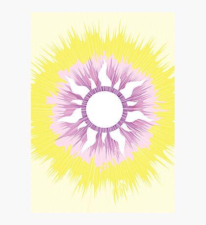 A Tangled Sunburst Photographic Print
