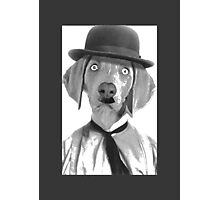 Haha i am Charlie Chaplin Photographic Print
