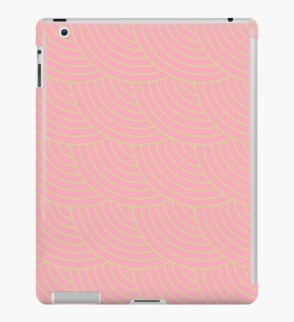 Pink Fish Scale Pattern iPad Case/Skin