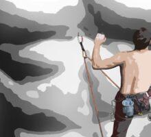 Rock Climber #1 Sticker