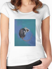 Mouse Women's Fitted Scoop T-Shirt