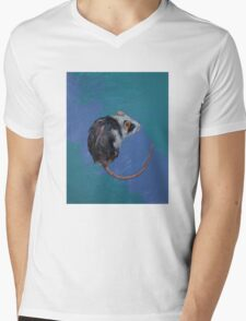 Mouse Mens V-Neck T-Shirt