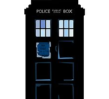 Abstract Tardis by drwhobubble