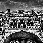 Ferrara Cathedral by Traven Milovich