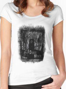 Darkly Manor Women's Fitted Scoop T-Shirt