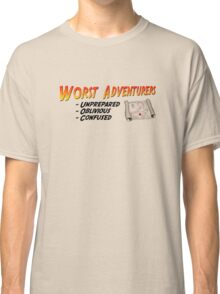 WORST ADVENTURERS - Slogan (english) Classic T-Shirt