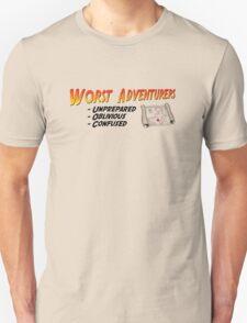 WORST ADVENTURERS - Slogan (english) T-Shirt