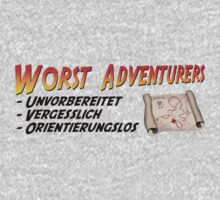 WORST ADVENTURERS - Slogan (deutsch) by haegiFRQ