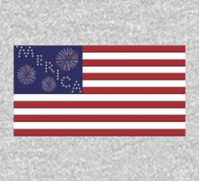 'Merican Flag by serenefox