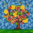 Tutti Fruti Tree by Lisa Frances Judd ~ Original Australian Art