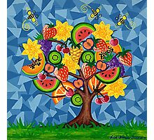 Tutti Fruti Tree Photographic Print