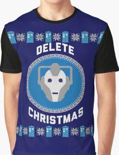 Delete Christmas - Cyberman Graphic T-Shirt