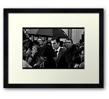Bruce Wayne May Be Richer.. Framed Print