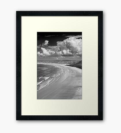 Rhossili Bay, Gower Peninsula Framed Print