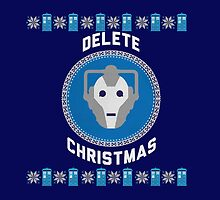 Delete Christmas - Cyberman by Winkham