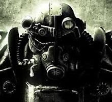 fallout brother hood of steel by Jman27000