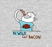 Be wild, eat bacon ! / Cat doodles Unisex T-Shirt