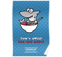 Fin's soup – Beware the shark Poster