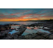 Winter's Sunset. Photographic Print