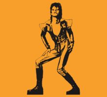 David Bowie Ziggy Stardust T-Shirt by GeekLab