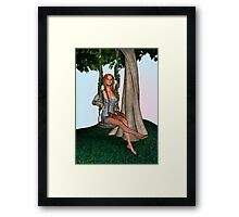 Fantasy Swing Framed Print