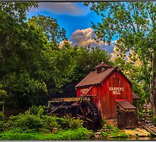 An Old Mill by Edvin  Milkunic
