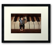 Just wanted to drop you a note ... Framed Print