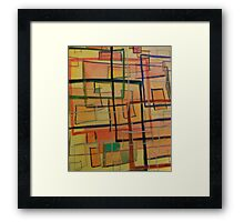 At The Office Framed Print