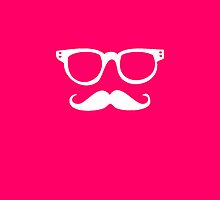 very pink hipster by Federica Cacciavillani