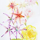 Watercolour flowers by JayZ99