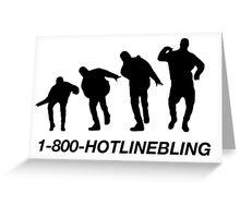HOTLINEBLING EVOLUTION Greeting Card