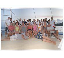 Guests & Crew - Raja Ampat 2013 Poster
