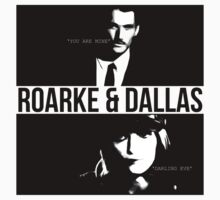Roarke and Dallas by whatthefawkes