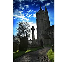Church Grounds Photographic Print
