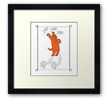 springy Framed Print