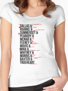 In Death Characters Women's Fitted Scoop T-Shirt