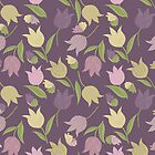 Tulips Pattern  by rusanovska