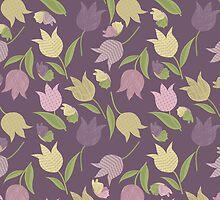 Tulips Pattern  by rusanovska