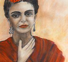 Frida Kahlo by olivia-art