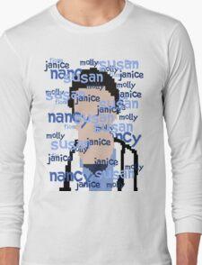 JD - Names Long Sleeve T-Shirt