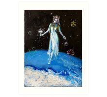 White Goddess Art Print