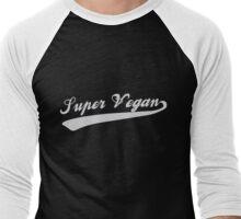 Super Vegan Men's Baseball ¾ T-Shirt