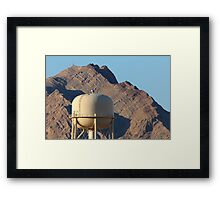 A Drop of Water in the Desert Framed Print