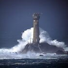 Longships Lighthouse 1 by Peter Barrett