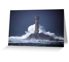 Longships Lighthouse 1 Greeting Card