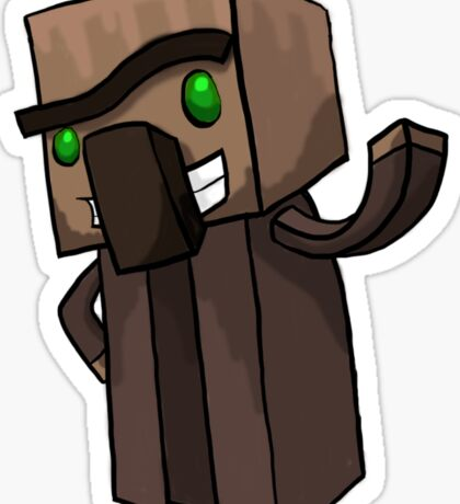 Minecraft Villager Sticker