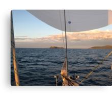 EN ATTENTE - REGATA ROLEX CUP SAN REMO S.TROPEZ- IT ALIA - EUROPA - PRESENTATO IN ITALIA 500 +- VISUALIZZAZ. 1000 -VETRINA RB EXPLORE GIUGNO 2013-                              - Canvas Print
